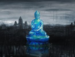 Blue Budha by gavwoodhouse