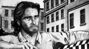 A Wolf Among Us - Bigby Drawing by Names76