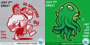This Monday on TheYetee by Winter-artwork