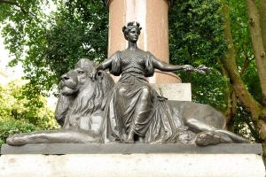 British sovereign and lion 1 by wildplaces