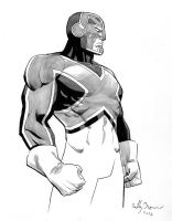 Captain Britain by ReillyBrown
