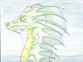 Sea Dragon thing by thatoneginger