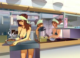 Men's Ramen Shop by taho