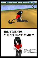 :MMD: IRL FRIENDS by xMMDPandux