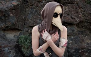 Plague Doctor Mask by AnotherFaceStudio