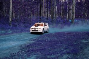Subaru In Blue by Mitchography