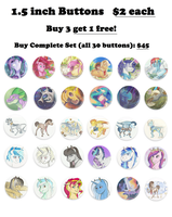Bronycon Buttons! by Earthsong9405