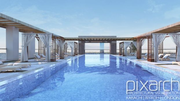 Pool Area Design Ideas by pixarch