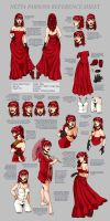 Netta Parsons Ref Sheet by manic-pixie