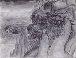 Scylla and Charybdis by DaRkScArEcRoWs