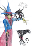 Elphaba, the Wicked Witch of the West by DemonCartoonist