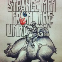 Strange men from the unknown concept title cover by the-maker