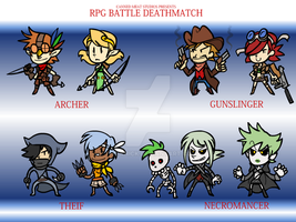 RPGBD - Class Set 2 by The-Knick