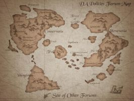 DA Politics Forum Map by Poopgoblyn