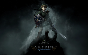 The Elder Scrolls V: Skyrim - Skyward Sword by Sasuke0pro