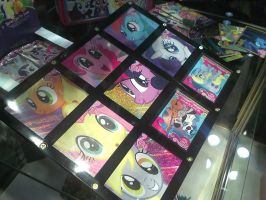 NYCC 2012 - Complete Set of MLP Special Foil Cards by DestinyDecade