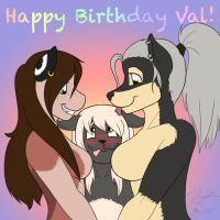 Happy Birthday Val by Pokemon-Chick-1