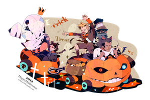 happy Halloween 2013 by freestarisis