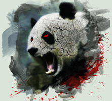 Angry Panda - My Deviant ID by Tooschee