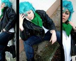 Grimmjow gigai _winter version _ by grimmiko88