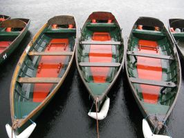 Boats in the Rain by The-Aperture