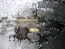 Window Frost 7 by ElleStock
