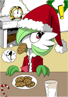 Gardevoir Christmas by Anzhyra