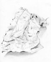 Crumpled Paper by 4f6f3b
