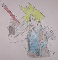 Gift: Cloud Strife by Dreams-of-Impact