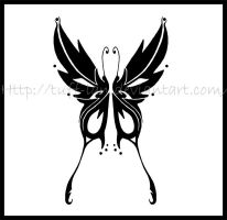 Butterfly tatto by Tuff-Lan
