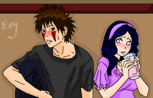 Kibahina : First Date Jitters by Sorceress2000