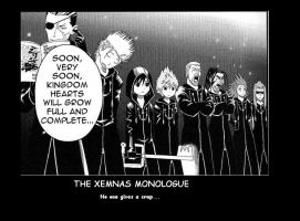 Xemnas Monologue by SlytherinRathlou