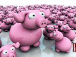 Archigraphs Pigs Wallpapers by Cyberella74
