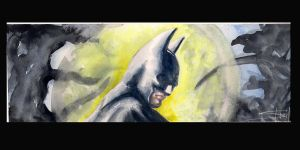 batman frame by LucaStrati