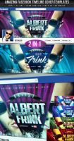 PSD Amazing Facebook Timeline Covers - 2in1 by retinathemes
