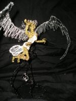 Wire Angel from top by charraj