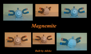 Magnemite Paper Pokemon by Adisko