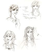 Hairstyles by thelifeofabinder