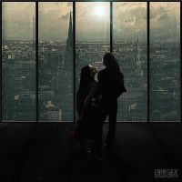 Love in Metropolis by kimoz