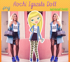 Rochi Igazala Doll by RoohEditions
