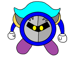 A Meta Knight drawing by PenelopeHamuChan