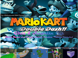 Mario Kart Double Dash!! Girls and Surprise Cup by FatalitySonic2
