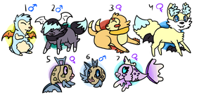 [OPEN] PKMNation: Fluff and fish clutch by Featherkissed