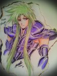 Doodle Time~~ Aries Shion by mariajo6596