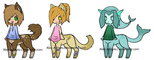 ChibiTaur Adopts: CLOSED by Alex-Adopts