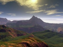 Terragen 1 by Lee58