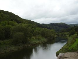 The Wye Valley by Sascia