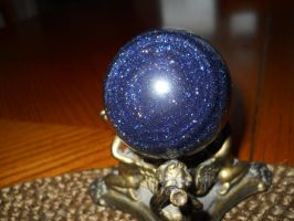 Blue Goldstone Galaxy... by Chaosfive-55