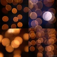bokeh christmas lights. by simoendli