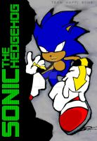 Sonic the Hedgehog THB Style by SCIFIJACKRABBIT
